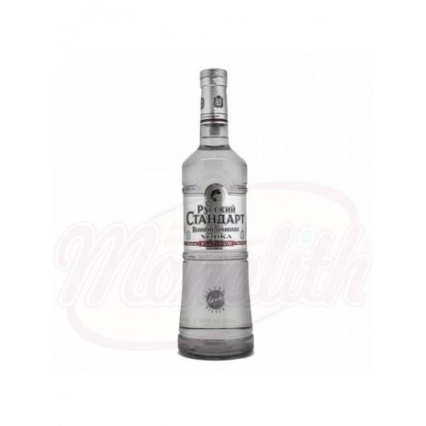 Водка Русский Стандарт Платинум  40 1 L - Россия
