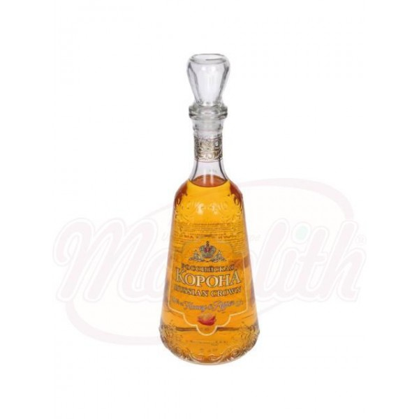 Bebida alcohólica Rossijskaja korona na medu s percem 40 vol. 0,7 L - Rusia