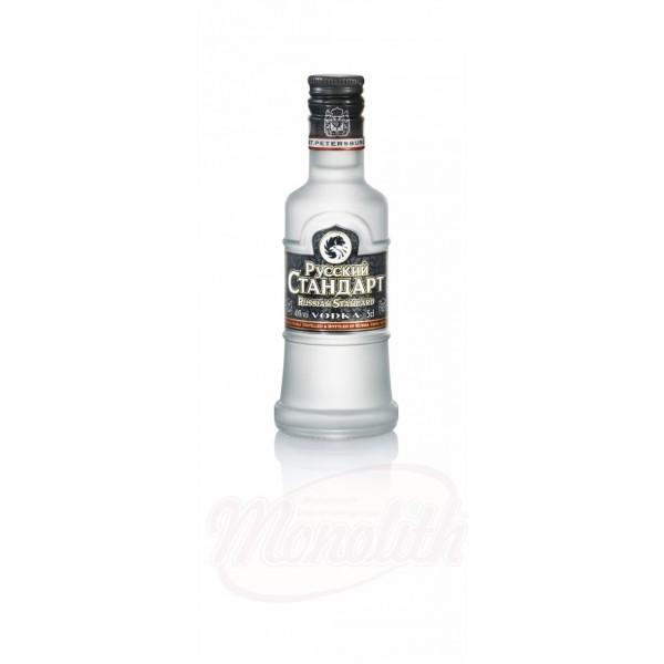 Vodka Russian Standart 40 vol.  0,05 L - Rusia