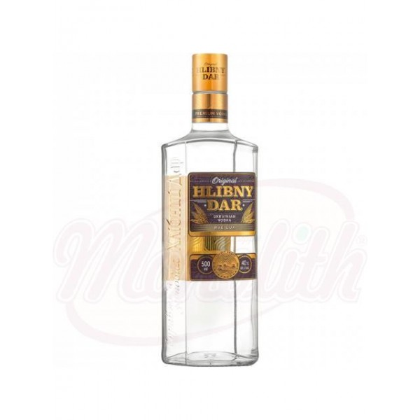 Vodka Hlibny Dar - Lux 40% vol  0.5L