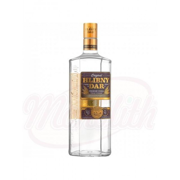 Vodka Hlibny Dar - Lux 40% vol.  0,7 L