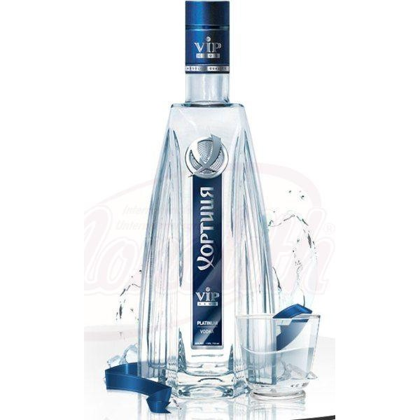 "Vodka ""Khortytsa"" VIP Club Platinum, 40 vol.  0,7 L - Ucrania"