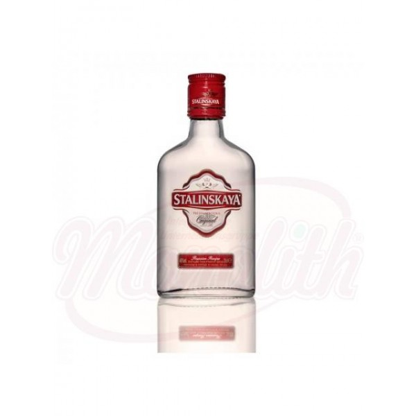 "Vodka ""Stalinskaya Premium Original"" 40 vol. 0,2 L - Rumanía"