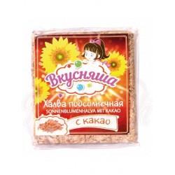 Turron de semillas de girasol con cacao Vkusnasha 250 g