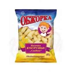 Producto para picar de maíz Obschorka 80 g