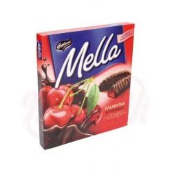 Jalea de cereza en chocolate  190 g Mella