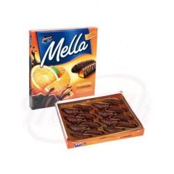 Jalea de naranja en chocolate 190 g Mella