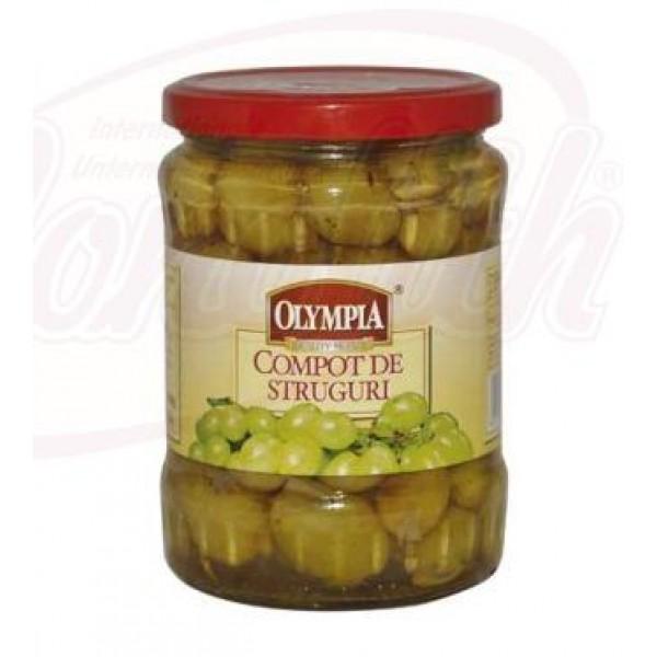 Compota de uvas Olympia 560g - Rumanía