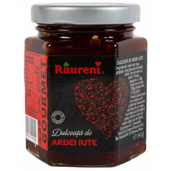 Варенье из острого перца Raureni 240g - Румыния