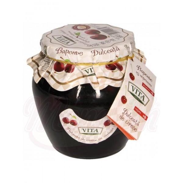Варенье из черешни с косточкой  Vita 680 g - Молдова
