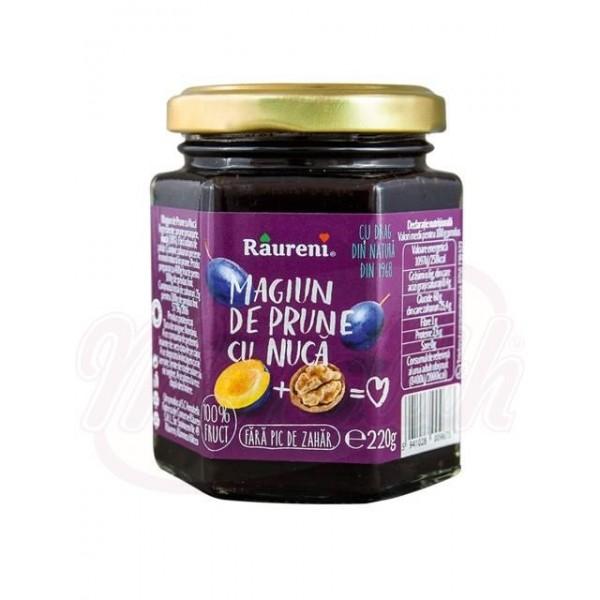 Mermelada de ciruela con nueces Raureni 220 g - Rumanía
