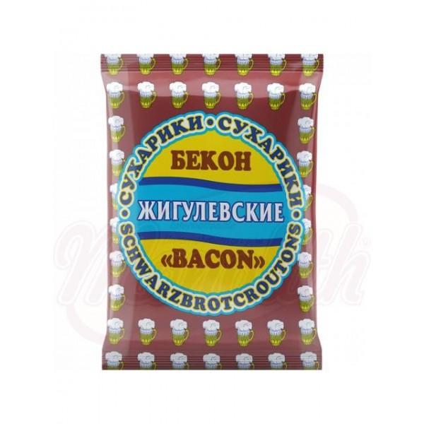 Pan tostado Zhiguljovskie sabor bacon 50 g - Otros