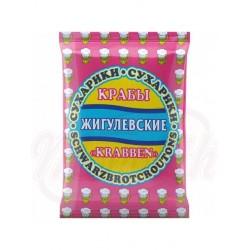 Pan tostado Zhiguljovskie   sabor cangrejo 50 g