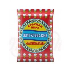 Pan tostado Zhiguljovskie sabor caviar rojo 50 g