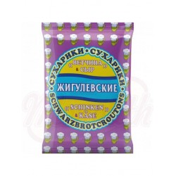 Pan tostado  Zhiguljovskie sabor jamón y queso 50 g