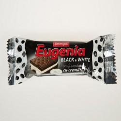 Печенье  Dobrogea двухслойное коричневое с молочным кремом Black&White  36 g