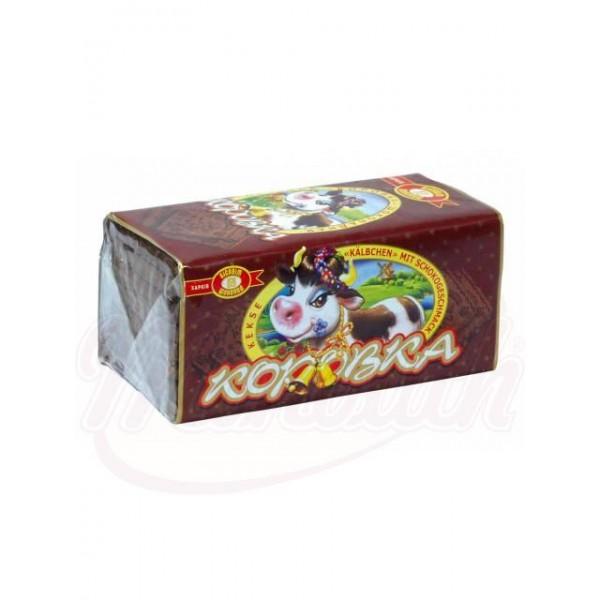 Galletas  Korovka  con sabor a chocolate 180 g - Ucrania