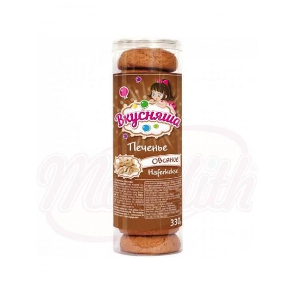 Печенье овсяное  сдобное  Вкусняша 330 g - Украина