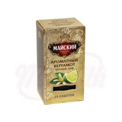 Te negro Maiskiy con bergamota 25x2g