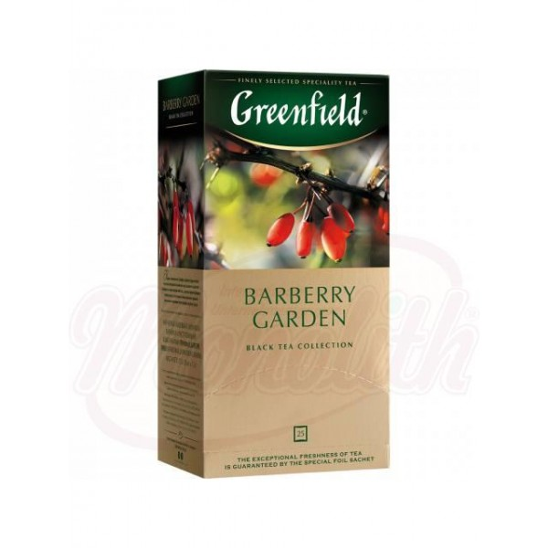 Te Greenfield Barberry Garden 25bx1,5 - Rusia