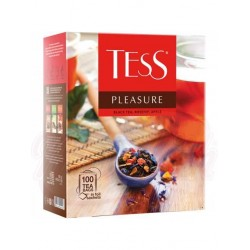 Te negro Tess Pleasure aroma tropical 100bx1,5g