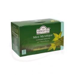 Чай зеленый с ароматом мяты Ахмад 20пx2г