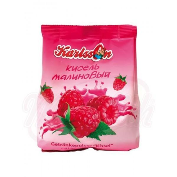 Bebida gelatinosa en polvo de frambuesa  Karlson  240g - Lituania