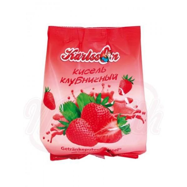 Bebida gelatinosa en polvo de fresa Karlsson 240g - Lituania