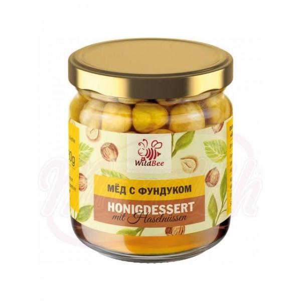 Miel  WildBee  de avellanas 240 ml - Moldavia