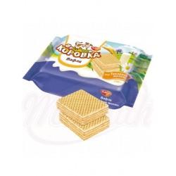 Waffles korovka con relleno de crema de leche 75% Korovka  150 g