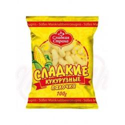 Gusanitos dulces de maíz Sladkaya Strana 100 g