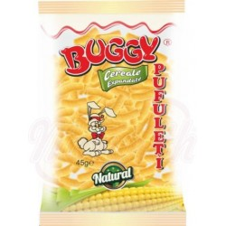 Gusanitos salados BUGGY  Pufuletti simpli  45 g