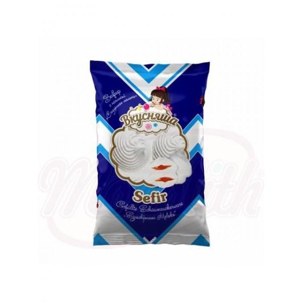 Malvaviscos Vkusnasha rellenos  leche condensada 300 g - Malvaviscos