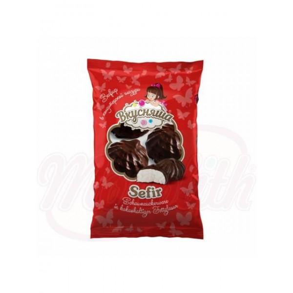 Зефир Вкусняша  в шоколадной  глазури 250 г - Украина