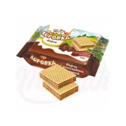 Вафли Рот Фронт Коровка с шоколадной начинкой  150 g