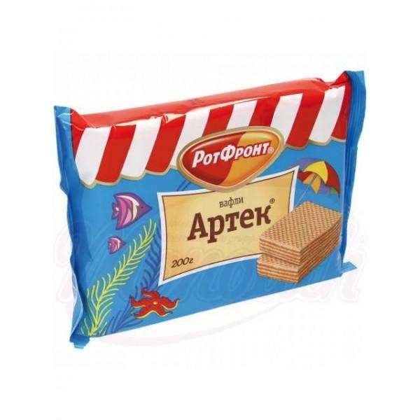 Вафли Рот Фронт Артек  с шоколадным вкусом 200 г - Россия