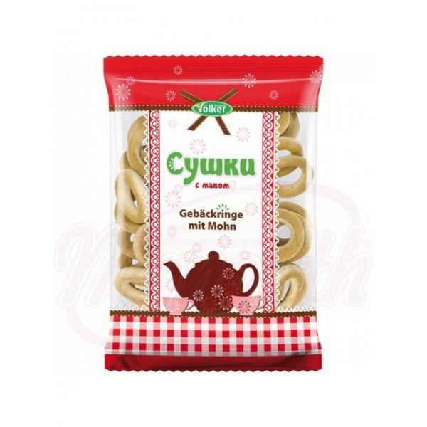 Rosquillas Waldemar Völker con semillas de amapola 300 g - Lituania