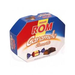 Caramelo blanco con relleno con sabor a ron   195 g