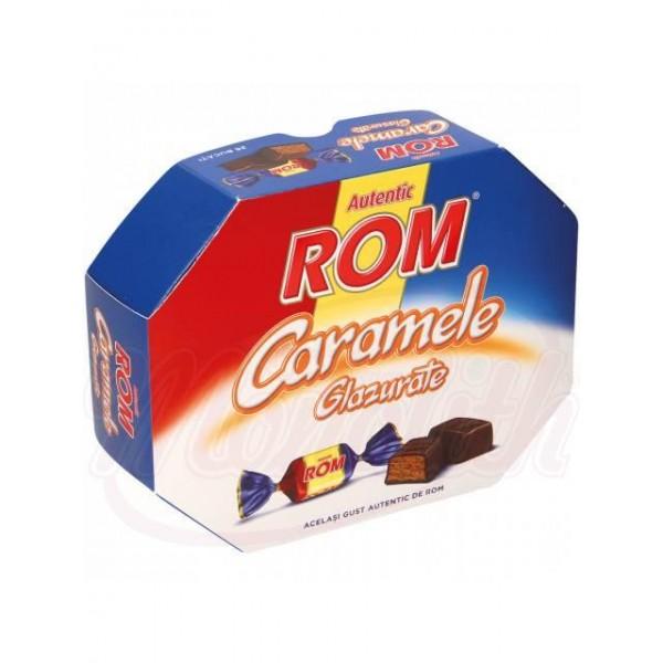 Caramelo blanco con relleno con sabor a ron   195 g - Rumanía