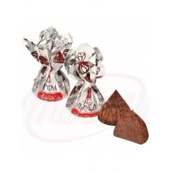 Bombones de praline en polvo de cacao 100 g
