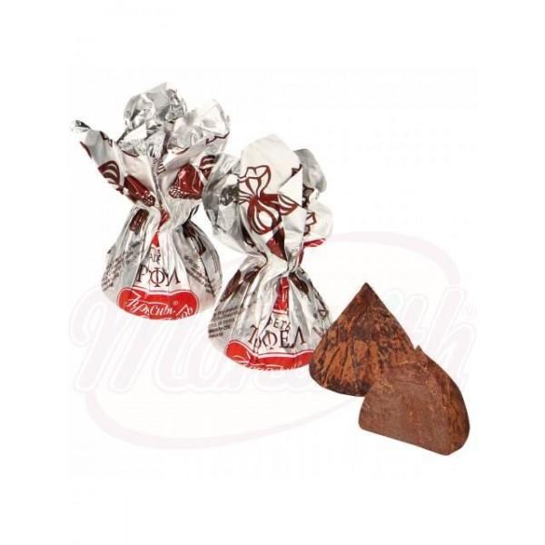 Bombones de praline en polvo de cacao 100 g - Rusia
