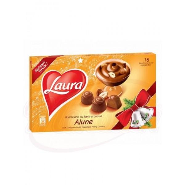 Bombones con crema de cacahuetes Laura 140g - Rumanía