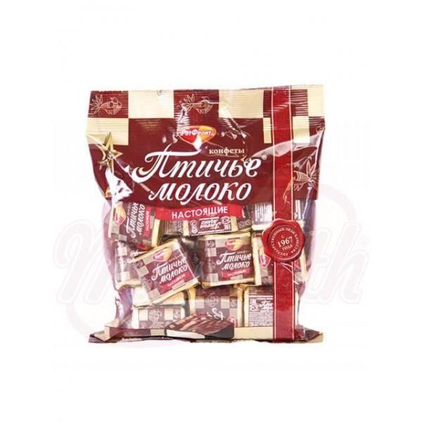 Bombones de chocolate Ptichie Moloko 225g - Rusia