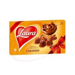 Bombones LAURA con crema de chocolate  140 g