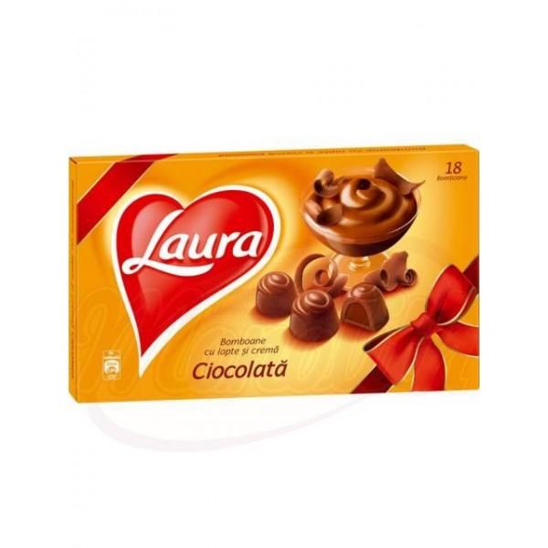 Bombones LAURA con crema de chocolate  140 g - Rumanía