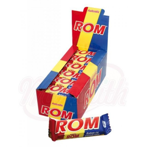 Батончик с ромом Baton Rom Autentic 30 g - Румыния