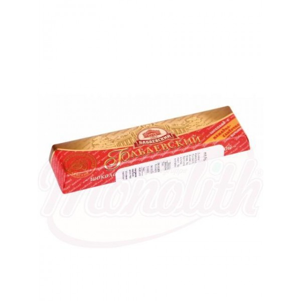 Шоколадный батончик Бабаевский с помадной начинкой- сливочный вкус 50 g - Россия
