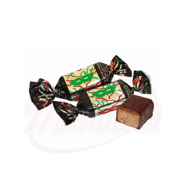 """Bombones """"Maska"""" con cacahuetes glaseados en cacao - Rusia"""