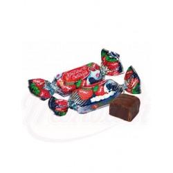 "Bombones ""Zheleinie"" con gelatina de fresa glaseados en cacao 100 g"