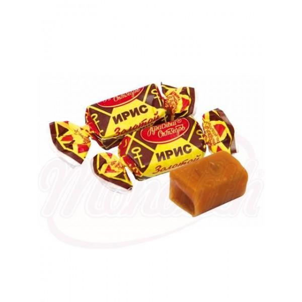 Caramelo blando Zolotoj klüchik sabor leche 100 g - Rusia